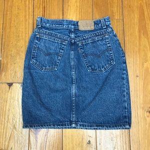 Levi's Skirts - SOLD 💚✨ VINTAGE LEVIS HIGH WAIST DENIM SKIRT